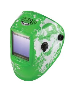 Monster Mobile? Welding Helmet Grinding 5-9 Green