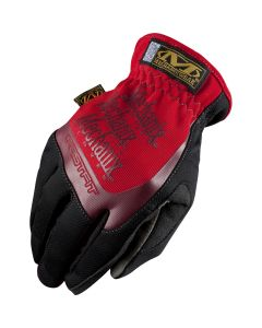 FastFit Gloves, Red, X-Large