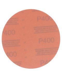 "3M Red Abrasive Hookit Disc, 6"", P400 Grit, 50 Per Box"