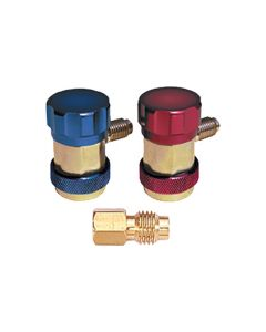 R12 - R134a Conversion Manual Style Coupler Set