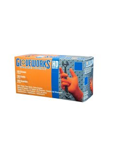 Gloves Gloveworks HD Orange Nitrile XXL