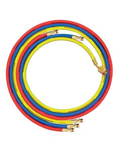 Set of 3 hoses Red, blue and yellow R1234yf