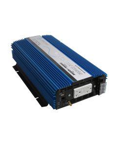 2000 Watt Pure Sine Inverter w/ USB  & Remote Port
