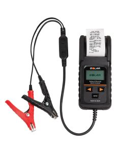 Electronic Battery & System Tester w/ Printer