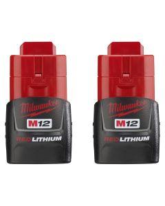 M12 REDLITHIUM 12V Compact Batteries (2 Pk.)