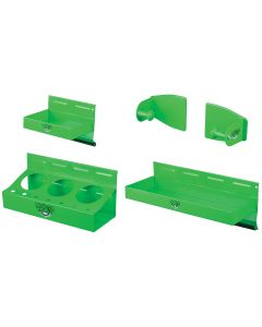Magnetic Toolbox Trays 4 pc Green
