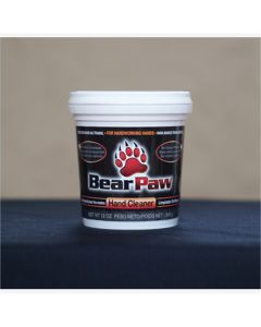 Bear Paw Non-Toxic Deep Cleaning Hand Cleaner, 12 oz. Tub (Case of 6)
