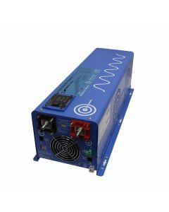 4000 Watt Pure Sine Inverter Charger 12 VDC to 120 VAC