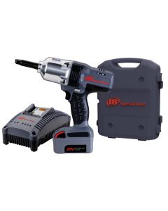 IQv20 1/2 in. Drive Impact Wrench w/ Extended Anvil, Charger and (1) Li-Ion Battery Kit
