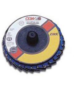 """2"""" Flap Discs, Roloc-Type T27 Zirconia Regular 40 Grit"""