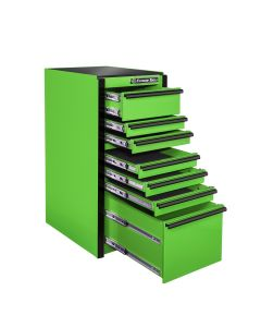 Extreme Tools 7-Drawer Box Green with Black Trim