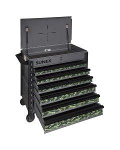 Sunex Tools Premium Full Service Cart, Camo