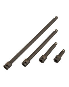 Sunex Tools 4-piece 3/8 in. Drive Impact Wobble Extension Set