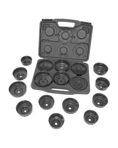 17 Piece Heavy Duty End Cap Wrench Set