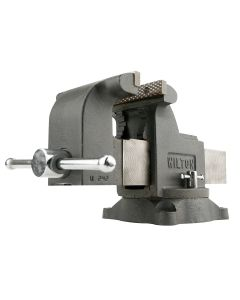 Wilton WS6, Shop Vise, 6 in. Jaw Width, 6 in. Jaw Opening, 3-1/2 in. Throat Depth