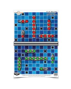 """Dirty Bird Battle At Sea 12"""" X 18"""" Targets, Pack of 8"""