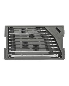 120XP Universal Spline Metric XL GearBox Flex, 10-Piece Set