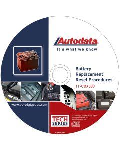 2011 Battery Replacement Reset Procedure CD
