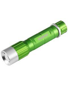 Monster Mobile? 200 Lumen Flashlight, Green, Rechargeable 4-Function