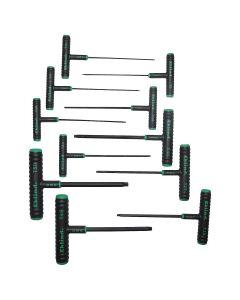 "11 Piece 6"" Power T T-Handle Torx Key Set"