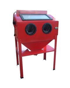 Black Bull Vertical Abrasive Red Blast Cabinet