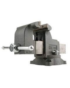 Wilton WS8, Shop Vise, 8 in. Jaw Width, 8 in. Jaw Opening, 4 in. Throat Depth