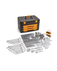 Gearwrench 243-Piece 1/4, 3/8, 1/2 in. Drive 12-Point Socket & Tool Set