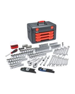 219-Piece Master Tool Set with Drawer Style Carry Case