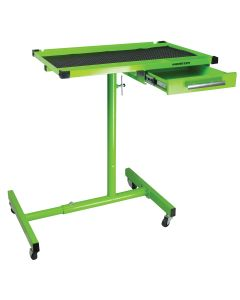 Monster Mobile? HD Adjustable Work Table w/ Drawer, Green