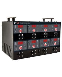 12/8/2 Amp Digital 8 Bank Charging Station