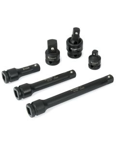 Titan 6-Piece 1/2 in. Drive Impact Socket Accessory Set