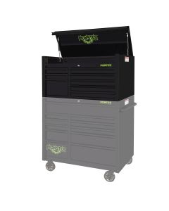 Monster Mobile? 41 in. x 25 in. 8-Drawer Top Chest, Matte Black