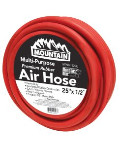 Mountain 25 ft. x 1/2 in. Rubber Hose