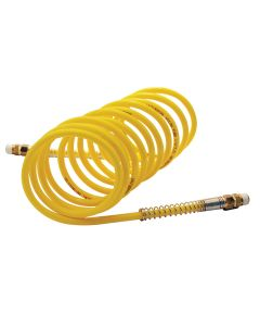 1/4 in. x 12 ft. Yellow Nylon Coil Hose