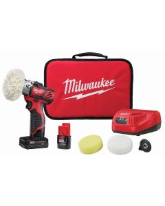 M12 Cordless Variable Speed Polisher Sander w/ 5-Piece Accessory Kit