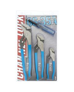 CHANNELLOCK 3-Piece Tongue and Groove Plier Set