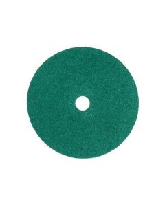 3M Green Corps Fibre Disc 36509, 7 in x 7/8 in, 40, 20 Discs/Bag, 5 Bags/Case