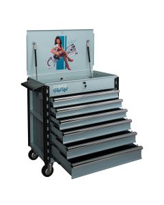 Sunex Tools Full-Drawer Service Cart, Pin Up Girl Eleanor