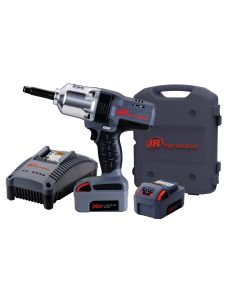 """IQv20 Li-Ion 1/2"""" Drive Impact Wrench Kit - Extended Anvil w/ Charger and Two Batteries"""
