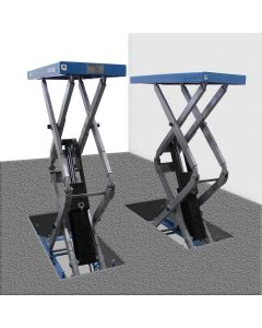 Atlas 9,000 lb. Capacity In-Ground Scissor Lift, 110-Volt (Freight Prepaid)