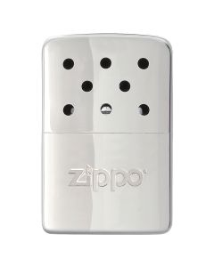 Zippo 6-Hour Refillable Hand Warmer, High Polished Chrome