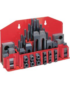 JET Tools Clamping Kit w/ Tray for T-Slot 52-Piece Kit for Vise