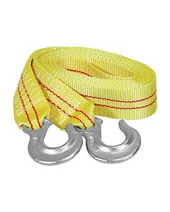 """2"""" x 15' Tow Strap with Forged Hooks at 10,000 lb. Capacity"""