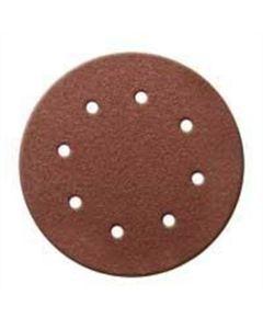 Dynabrade 8 in. PSA 120-Grit Vac Sanding Discs 25/Pk