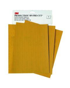 "3M Production Resinite 9"" x 11"" Gold Sheet"