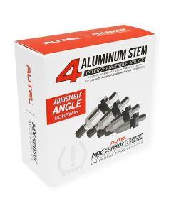 4-Pack of Aluminum Adjustable Angle Valves