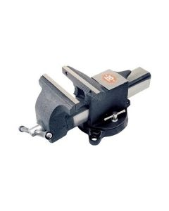 "5"" Steel Bench Vise with 5-1/4"" Jaw Opening"