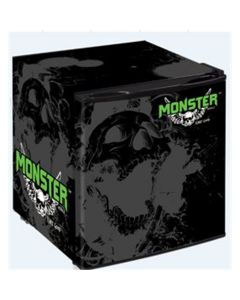 Monster Mobile? Small Refrigerator, Black