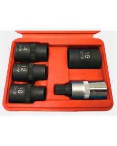 5PC 5-Point Socket Set
