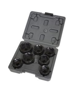 7 Piece Low Profile Filter Socket Set